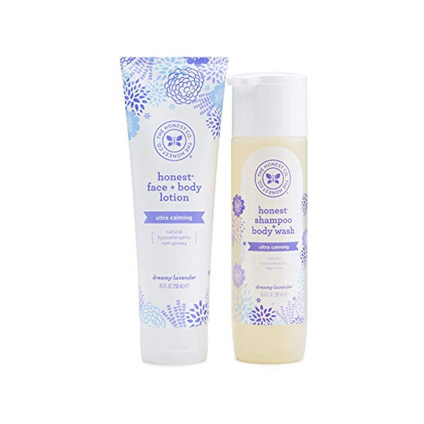 Honest Lavender Baby Wash and Lotion