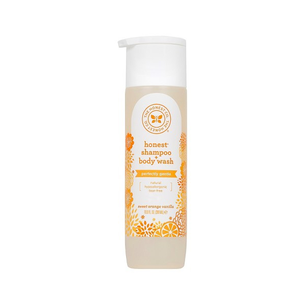 Honest Orange Vanilla Baby Wash