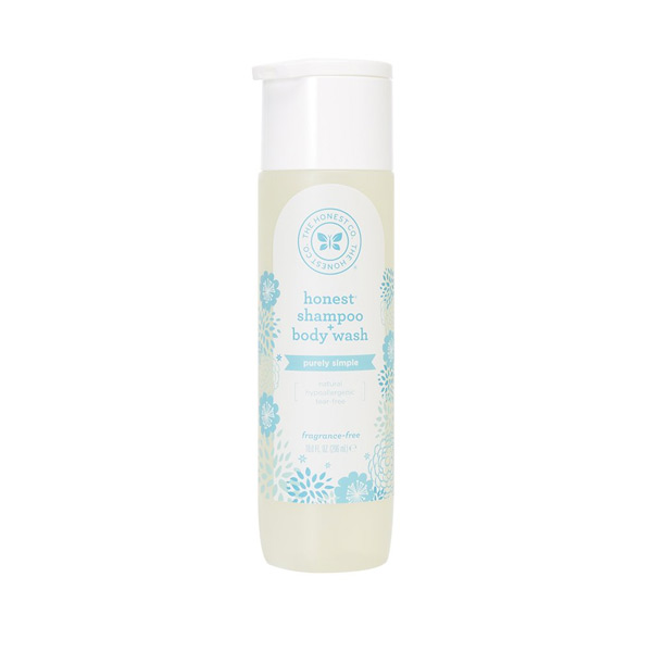 Honest Sensitive Baby Wash